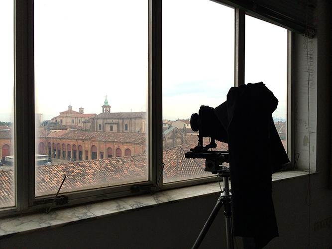 """10x8"""" camera workshop in Lugo's 'skyscraper'"""
